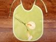 Babero bebé - Modelo LIRIOS - Verde