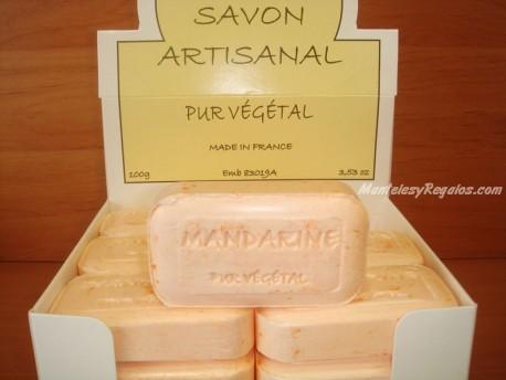 Jabón Vegetal Puro de Mandarina