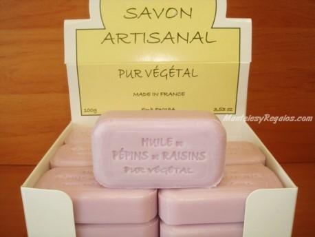 Jabón Vegetal Puro de Uva