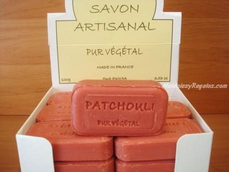 Jabón Puro Vegetal de Patchouli
