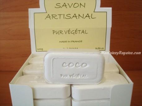 Jabón Vegetal Puro de Coco