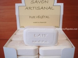 Jabón Puro Vegetal de Leche