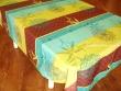 Mantel Antimanchas de Poliéster - Modelo ROSE DES SABLES - Verde