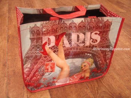 Bolsa Cabás - Modelo Paris Pin-up