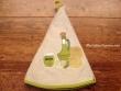 Paño redondo de cocina - Modelo ACEITERA - Beige