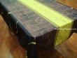 Mantel Antimanchas de Poliéster - Modelo HOJAS PUNTOS - Verde