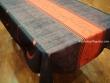 Mantel Antimanchas de Poliéster - Modelo HOJAS PUNTOS - Naranja