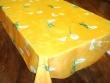 Mantel Antimanchas de Poliéster - Modelo LIRIOS - Amarillo