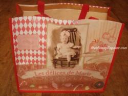 Bolsa Cabás - Modelo Les Délices de Marie