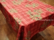 Mantel Antimanchas de Poliéster - Modelo HUILE D´OLIVE - Rojo