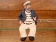 Capitán Sentado con Pipa (tamaño de 22 cm.)