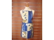 Delantal Antimanchas - Modelo Girasol Abeja - Azul