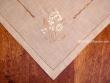 Mantel bordado - Modelo FLORES F86 - 85 x 85 cm.