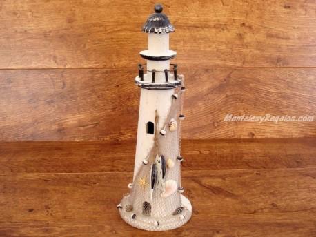 Faro de Madera Atlantida - 40 cm.