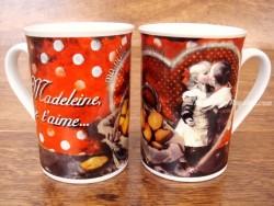 Taza de cerámica decorada - Modelo MADELEINE JE T´AIME