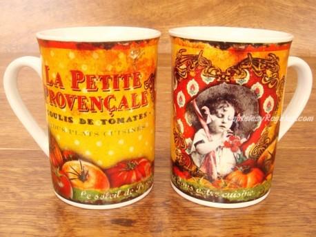 Taza de cerámica decorada - Modelo LA PETITE PROVENÇALE