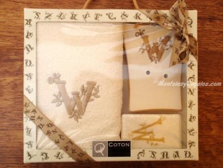 Caja de Regalo letra W