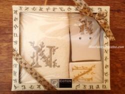 Caja de Regalo letra N