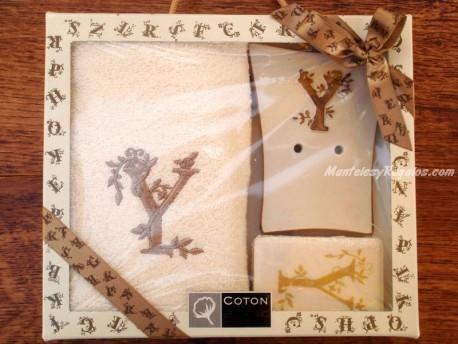 Caja de Regalo letra Y