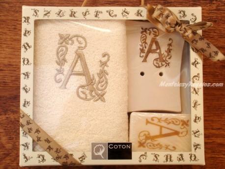 Caja de Regalo letra A