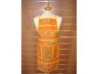 Delantal Algodón - Modelo Clos des Oliviers - Naranja
