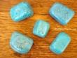 Piedras pulidas de Turquesa