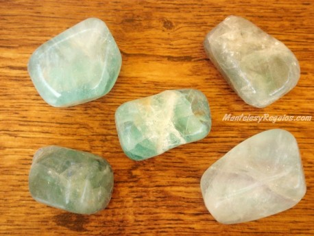 Piedras pulidas de Fluorita