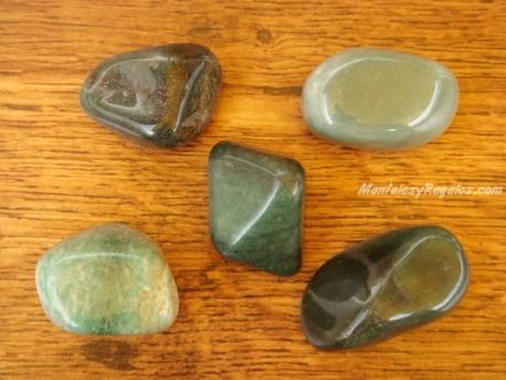 Piedras pulidas de Aventurina