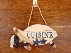 Placa de puerta para la Cocina - 18 cm.