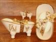 Jaboneras de cerámica (diferentes vistas)