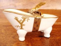 Jabonera de cerámica letra Y
