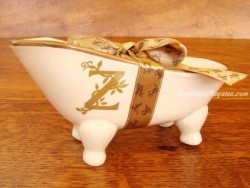 Jabonera de cerámica letra Z