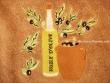 Paño de cocina redondo - Modelo BOTELLA DE ACEITE 2 - Marrón claro