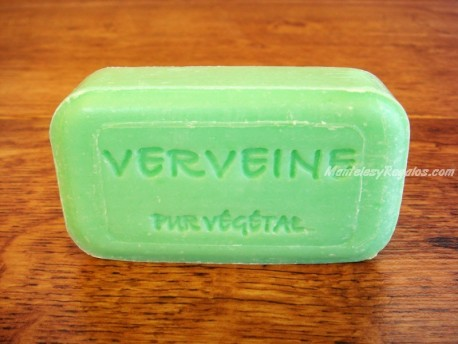 Jabón Puro Vegetal de VERBENA - 100 gr.