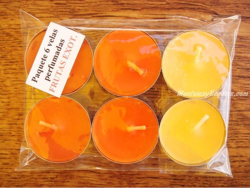 Velas de t perfumadas de frutas ex ticas - Velas perfumadas ...