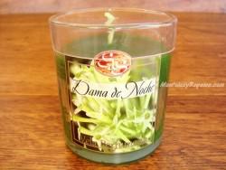 Vela perfumada en vaso de cristal DAMA DE NOCHE