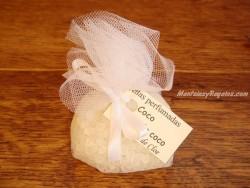 Saquito perfumado de COCO - 35 gr.
