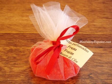 Saquito perfumado de FRESA - 35 gr.