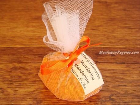 Saquito perfumado de MANDARINA - 35 gr.