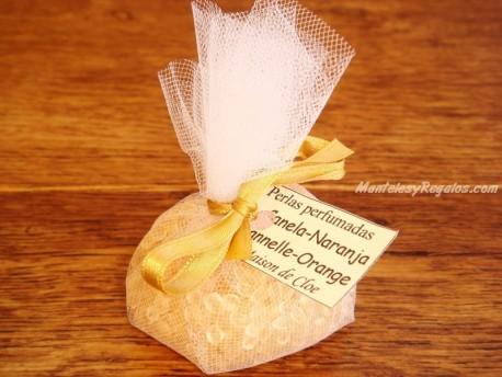 Saquito perfumado de CANELA-NARANJA - 35 gr.