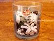 Vela perfumada en vaso de cristal de JAZMÍN