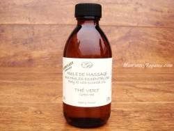 Aceite de masaje de TÉ VERDE - 200 ml.