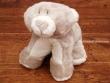 Peluche osito gris/blanco - 25 cm. (sobre las 4 patas)