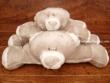 Peluche osito gris/blanco - (2 tamaños para elegir)