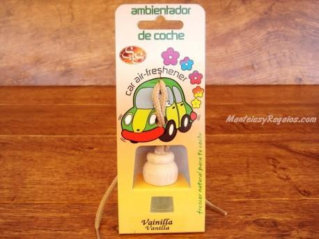 Ambientador de coche de VAINILLA - 7 ml.