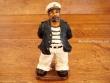 Capitán con pipa - 14,5 cm.