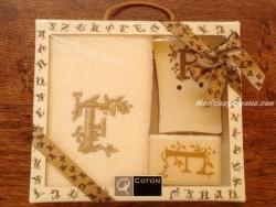 Caja de Regalo letra F