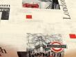Mantel Antimanchas de Poliéster - Modelo LONDRES - Rojo