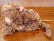 Gatita de Peluche MACIEK (lazo violeta)