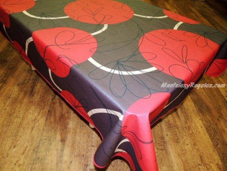 Mantel Resinado - Modelo ELEGANCE - Chocolate